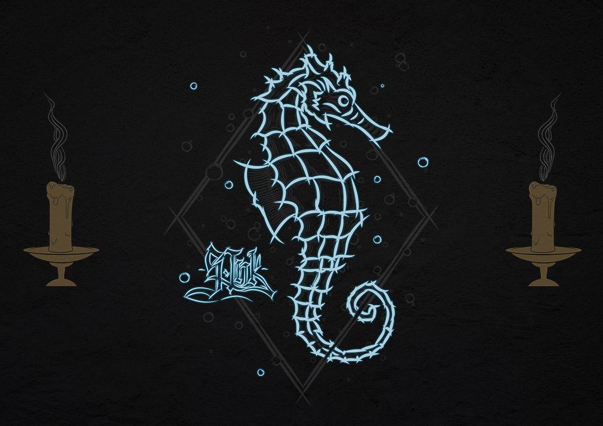 Seepferdchen dunkel Juni 19, 2021 S.Ink Clothing