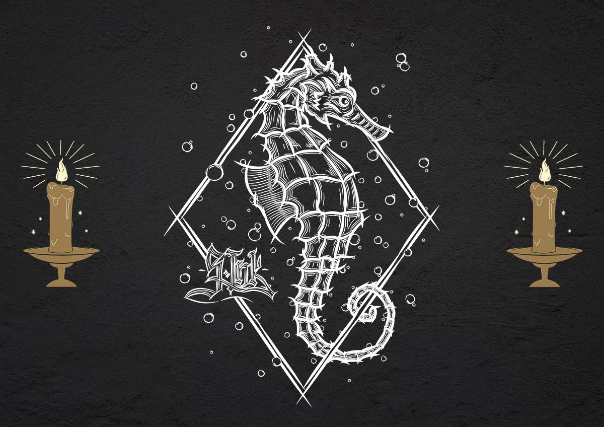 Seepferdchen hell Juni 19, 2021 S.Ink Clothing